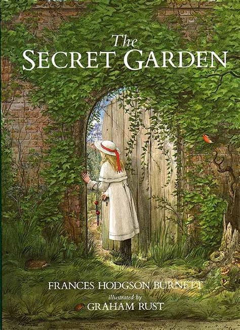 the secret garden illustrated books graham rust illustrated by graham rust