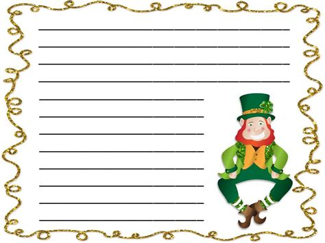 st day writing paper fancy writing paper cliparts co