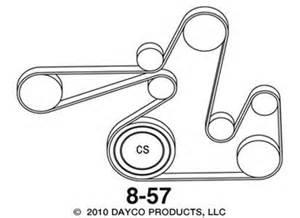 2007 dodge caliber se 2 0 routing diagram for serpentine