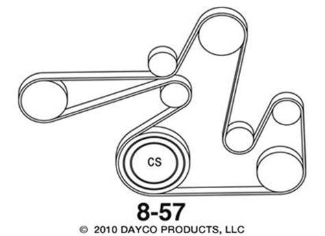 2007 dodge caliber serpentine belt diagram 2007 dodge caliber se 2 0 routing diagram for serpentine