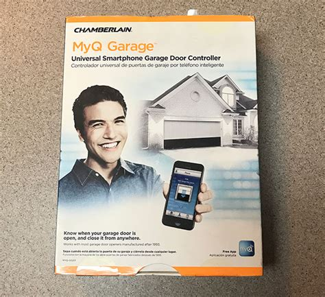 chamberlain myq garage product install and product review