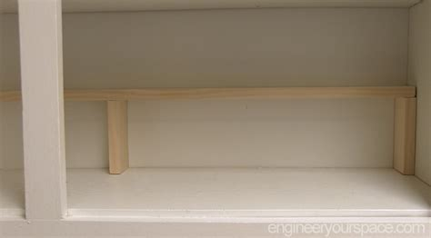 extra shelves for kitchen cabinets small kitchen ideas add an extra shelf in your upper