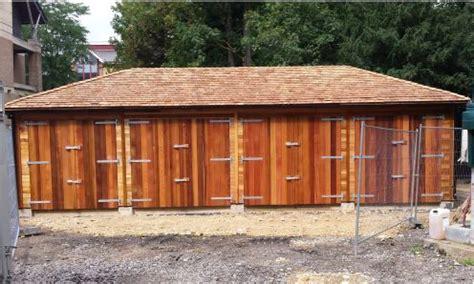 Cedar Clad Garage Doors by Warwick Garage Timber Garages Workrooms Timber