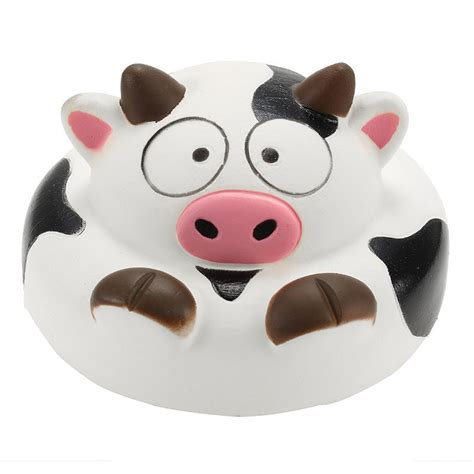 Squishy Panda Hat Berkualitas 1 squishy cow 10cm rising animals collection gift decor soft squeeze newchic