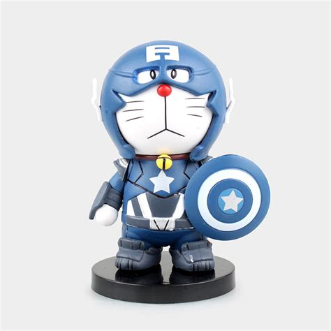 Doraemon Captain America 1 doraemon cos captain america 2