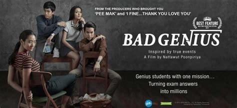 film thailand tentang mencontek film quot bad genius quot ketika mencontek jadi kejahatan