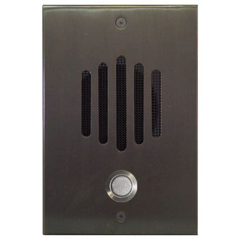 Plate Panasonic Color Wide Series Wej7823w channel vision dp 6252c doorphone intercom wide color rubbed bronze by channel