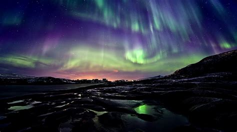 northern lights from space astronomy 2011