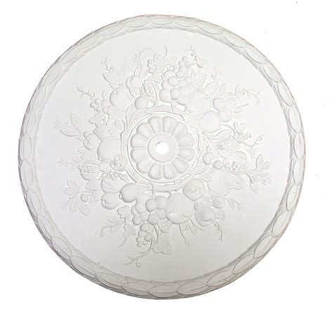 What Size Ceiling Medallion For Chandelier 22 Diameter Fruit Ceiling Medallion For Chandelier Or