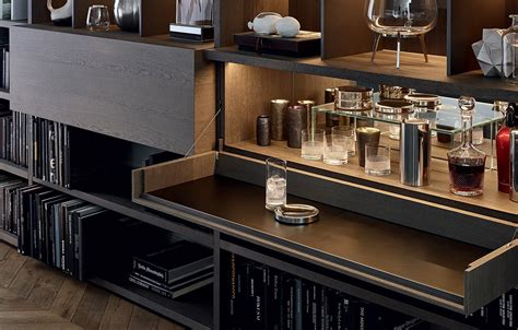 poliform librerie bookcases poliform wall system news 2015