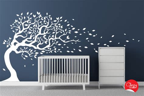 white tree wall decal nursery tree wall decals roundup project nursery