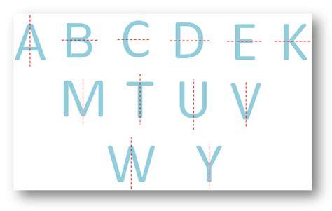 lines  symmetry symmetry   figures list