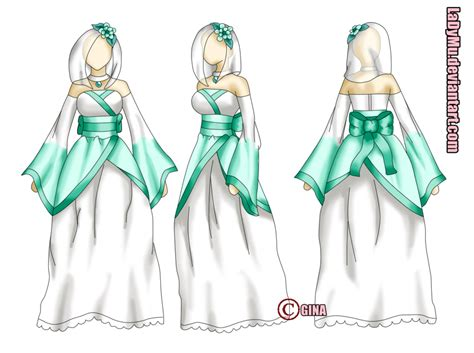 imagenes anime vestidos vestido color by ladymu on deviantart