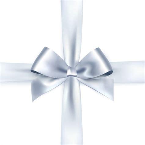Ribbon Silver silver ribbon bows vector 01 free