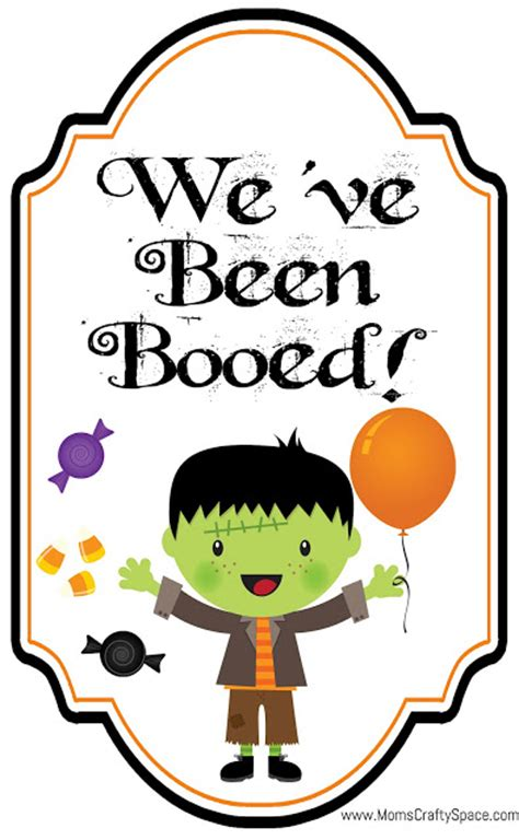 free printable you ve been booed sign free you ve been booed printables happiness is homemade