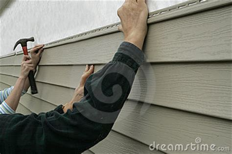 putting siding on a house installing siding on a house stock images image 292184