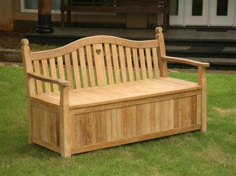 teak bench with storage modern outdoor teak storage bench the clayton design