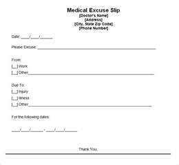 doctor notes templates doctors note template cyberuse