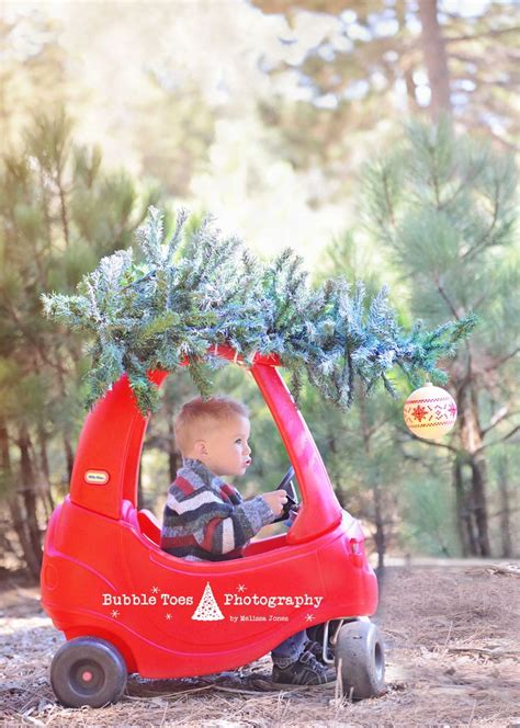mini christmas bubble christmas car with tree on top cozy coupe diy www