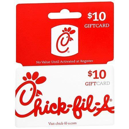 Fast Card Gift Card - fast card chick fil a gift card 10 00 walgreens