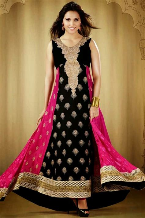 clothes design in pakistan 2014 charismatic anarkali frocks suits new fashion of