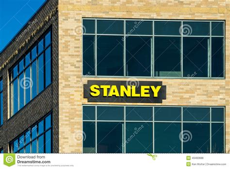 tool headquarters stanley black and decker offices and logo editorial stock photo image of headquarters steel