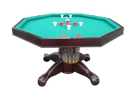 3 in 1 bumper pool table octagon 54 quot 3 in 1 slate bumper pool table mahogany