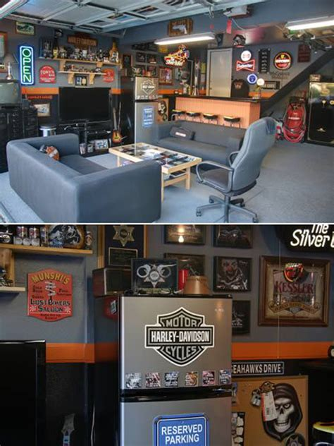 Awesome Garage Ideas by 15 Cool Garage Man Cave Suggestions Decor Advisor