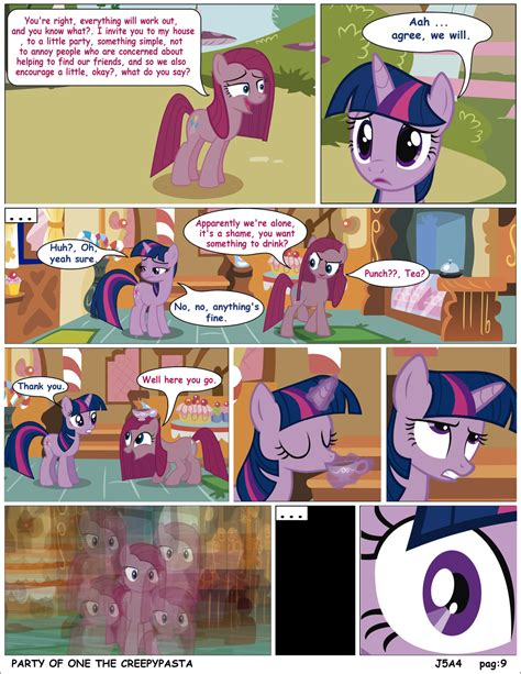 english party of one mlp creepypasta mlp party of one pag 9 creepypasta english by j5a4 on