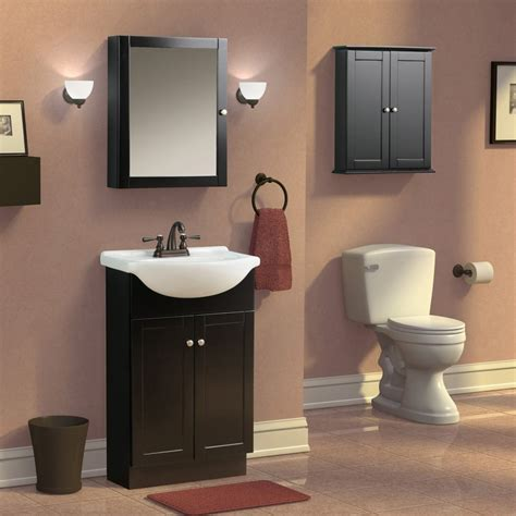 Bathroom paint colors with espresso cabinets should match