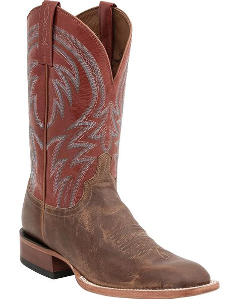 Handcrafted Cowboy Boots - lucchese s handcrafted 1883 alan smooth cowboy boot