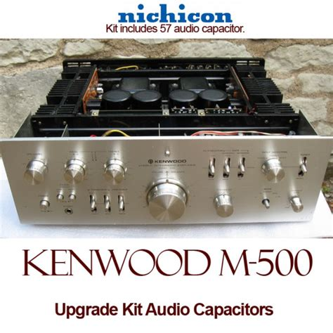 where are nichicon capacitors made kenwood model 500 upgrade kit audio capacitors