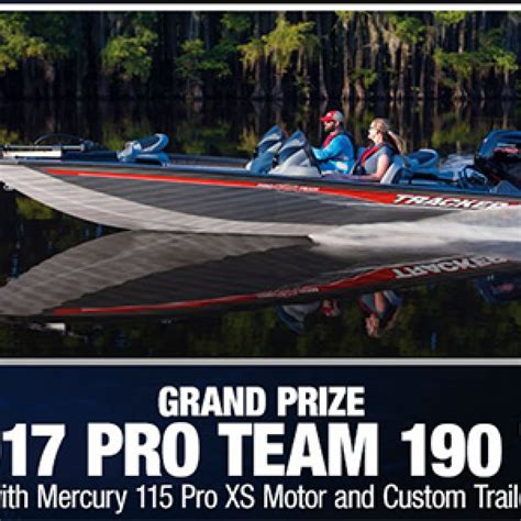 Bass Pro Sweepstakes 2017 - bass pro win a tracker pro team boat trailer granny s giveaways