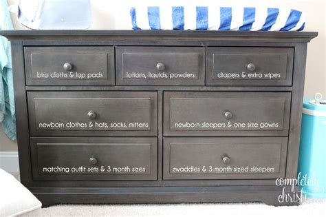 Organizing Nursery Dresser by Best 25 Nursery Closet Organization Ideas On