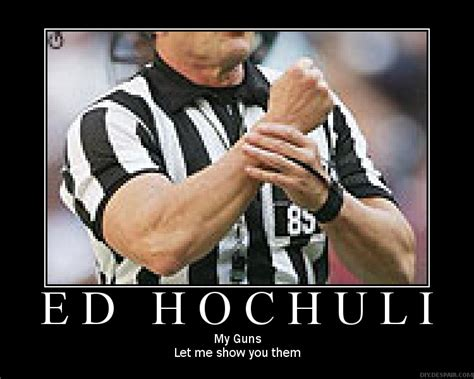 Ed Hochuli Meme - stu any word on refs big blue interactive
