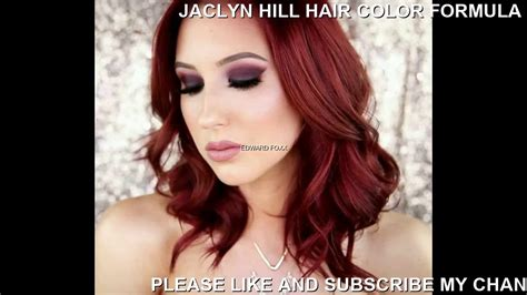 hill hair color formula