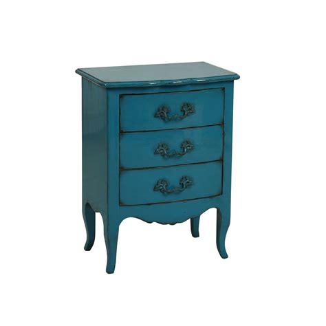 Interiors Commode by Commode 3 Tiroirs Bleu Interior S