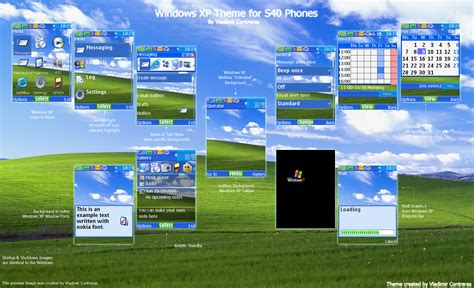 themes for windows xp windows xp theme s40 by vlasscontreras on deviantart