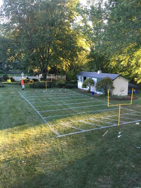 backyard football field backyard football field cole s first bday pinterest