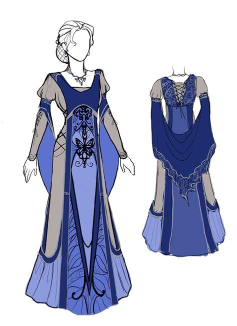 dress design royal blue medieval dress contest winners by arynchris on deviantart