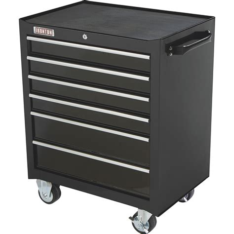 6 drawer cabinet on wheels ironton 26in 6 drawer rolling bottom tool chest 26 13