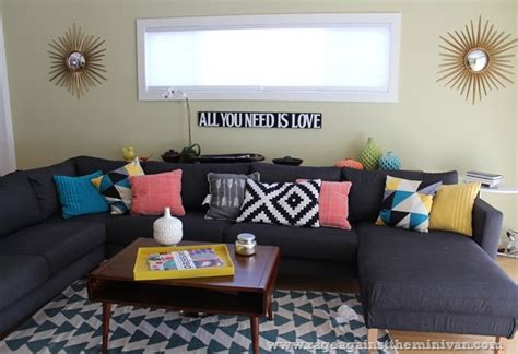 target living room living room with ikea sofa urban outfitters rug and