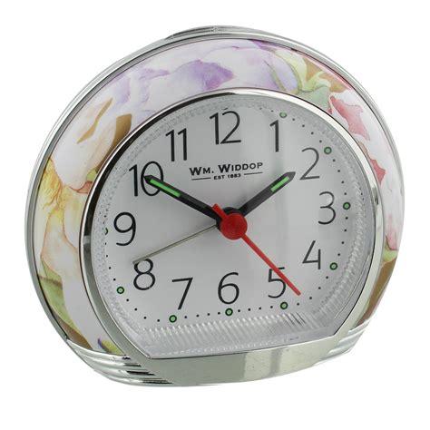widdop flower design alarm clock widdop alarm clocks york connollys homestyle york
