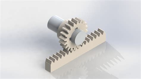 Rack And Pinion Design by Rack Request 3d Cad Model Grabcad