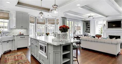 plan ideas   combined family room kitchen fairfax