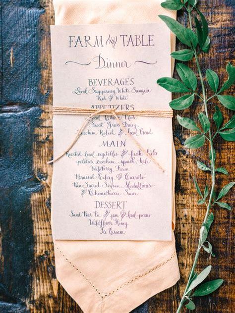 farm to table menu ideas 17 best ideas about bohemian style weddings on