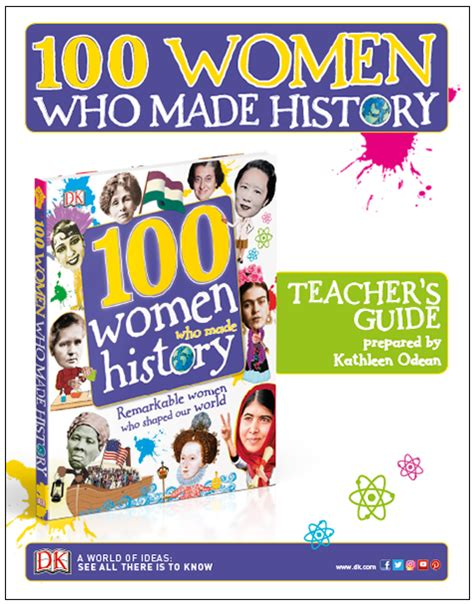 100 women who made simply amazing win 3 books perfect for women s history month the mailbox blog