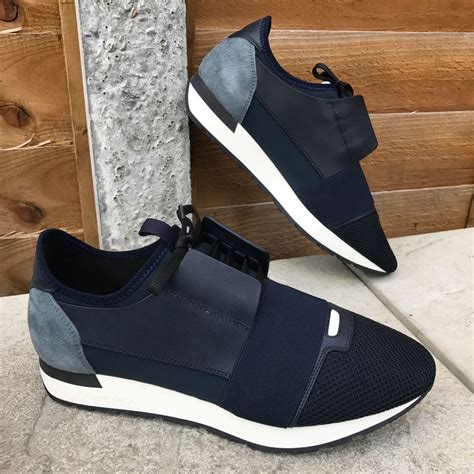 balenciaga mens sneaker 100 authentic mens new balenciaga blue grey white mesh