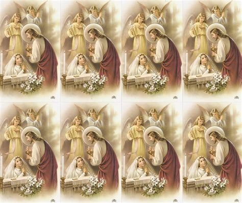 printable holy cards first communion print your own prayer cards holy cards