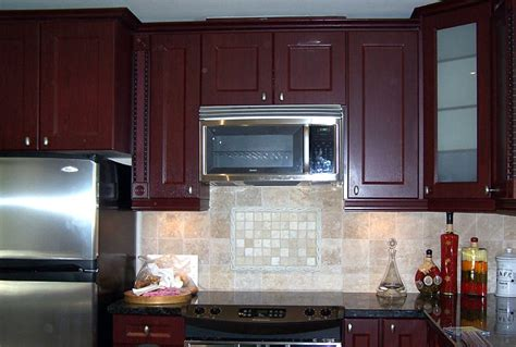 Dark Red Kitchen Cabinets | dark red kitchen cabinets quicua com